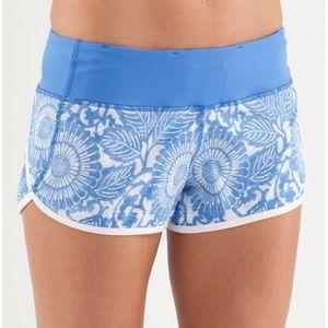 Lululemon speed shorts!